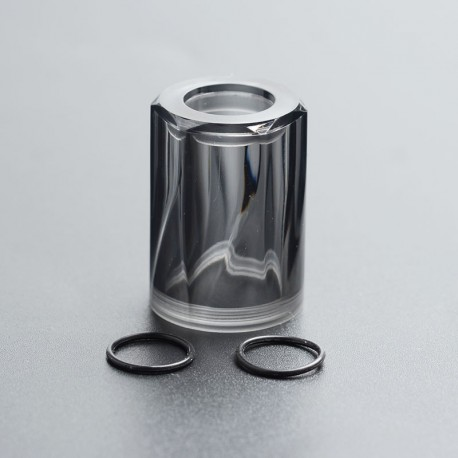 Authentic Auguse MTL RTA Replacement Top Cap Tank Tube - Grey, PC, 4ml