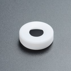 Replacement Decorative Beauty Ring for Dvarw MTL RTA - White, POM, 22mm Inner Diameter, 24mm Outer Diameter
