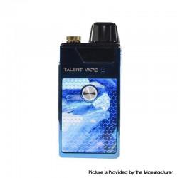 Authentic Talent Vape ECO 40W 1100mAh VW Mod Pod System Vape Starter Kit - Blue, Zinc Alloy + PCTG, 0.6ohm / 1.2ohm, 5~40W