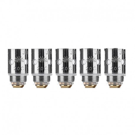 Authentic Innokin Jem Replacement MTL Ceramic Coil Head for Jem / Goby Pen Kit - Silver, SS, 2.0ohm (10~13W) (5 PCS)