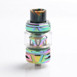 Authentic HorizonTech Falcon II Sub Ohm Tank Atomizer - Rainbow, Stainless Steel + Resin, 5.2ml, 25.4 Diameter