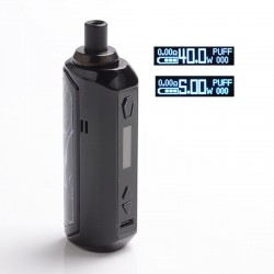 Authentic Artery Nugget AIO 40W 1500mAh VW Box Mod Pod System Starter Kit - Black, Zinc Alloy + Plastic, 2ml, 5~40W