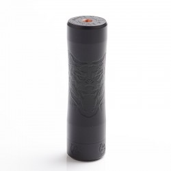 Authentic Reewape RUOK Ghost 21700 Hybrid Vape Mechanical Mod - Black, Copper, 1 x 18650 / 20700 / 21700, Random Engrave Pattern