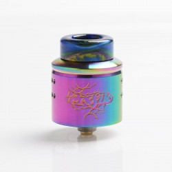 Authentic Wotofo Profile 1.5 RDA Rebuildable Dripping Atomizer w/ BF Pin - Rainbow, Stainless Steel, 24mm Diameter