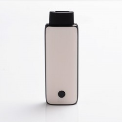 Authentic IJOY Neptune AIO 650mAh Pod System Starter Kit - Pearl White, Zinc Alloy + Curved Glass, 1.8ml, 1.0ohm