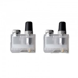 Replacement Pod Cartridge w/ 0.3ohm Mesh Coil for Lost Vape Orion DNA GO - Translucent, 2ml (2 PCS)