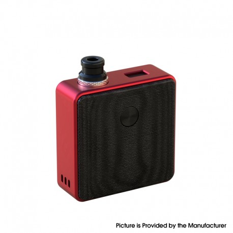[Ships from Battery Warehouse] Authentic SXK Bantam Revision 30W VW Box Vape Mod Kit w/ 18350 Battery - Red, 5~30W, 1 x 18350
