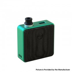 Authentic SXK Bantam Revision 30W VW Variable Wattage Box Vape Mod Kit w/o 18350 Battery - Green, 5~30W, 1 x 18350, SEVO-30
