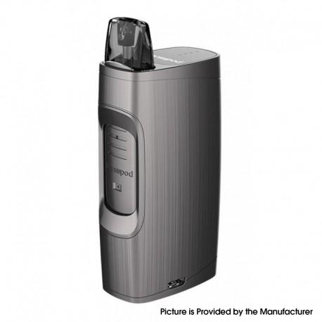 Authentic Uwell MarsuPod PCC 1000mAh Pod System Vape Starter Kit - Gray, Polycarbonate + PCTG & ABS, 1.3ml, 1.2ohm