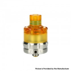 Authentic asMODus ANANI MTL RTA Rebuildable Tank Vape Atomizer - Matte Silver, Stainless Steel + Ultem, 5.3ml, 24mm Diameter