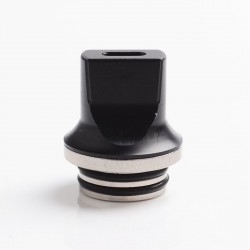 Authentic Reewape AS281T 810 Replacement Drip Tip for SMOK TFV8 / TFV12 Tank / Kennedy / Battle/Reload RDA - Black, Resin, 20mm