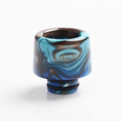 Authentic Reewape AS266 510 Replacement Drip Tip for RDA / RTA / RDTA / Sub-Ohm Tank Vape Atomizer - Blue, Resin, 15.5mm