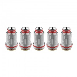 Authentic Uwell Replacement UN2 Meshed Coil Head for Nunchaku / Nunchaku 2 Tank - Silver, 0.2ohm (50~60W) (4 PCS)