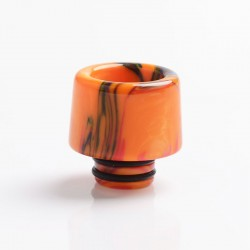 Authentic Reewape AS266 510 Replacement Drip Tip for RDA / RTA/RDTA/Sub-Ohm Tank Vape Atomizer - Orange Red Black, Resin, 15.5mm