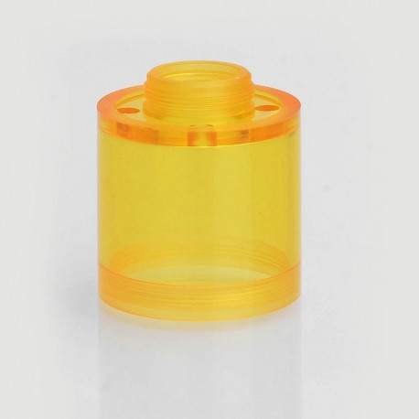 Replacement Top Cap Tank Tube Sleeve for Pico V2 Style RTA Vape Atomizer - Yellow, PC