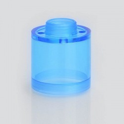Replacement Top Cap Tank Tube Sleeve for Pico V2 Style RTA Vape Atomizer - Blue, PC