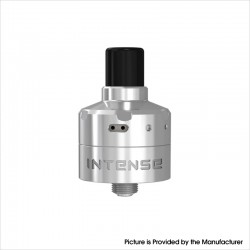 Authentic Damn Vape Intense DL / MTL RDA Rebuildable Dripping Vape Atomizer w/ BF Pin - SS, Stainless Steel, 2ml, 24mm Diameter