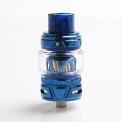 Authentic HorizonTech Falcon II Sub Ohm Tank Atomizer - Blue, Stainless Steel + Resin, 5.2ml, 25.4 Diameter
