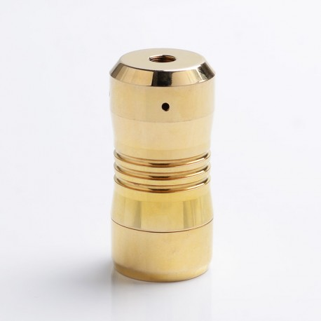 Scar Mini Style Hybrid Mechanical Mod - Brass, Brass, 1 x 18350