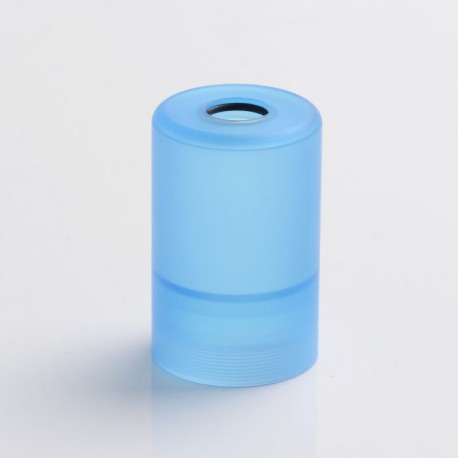 Replacement Top Bell Cap Tank Tube for Rose V2-S Style RTA - Blue, PC