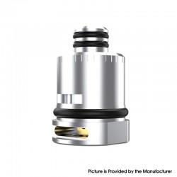 Authentic Mechlyfe Replacement RPM RBA Coil Head for SMOK RPM40 / Fetch Mini Pod System Kit - Silver, Stainless Steel