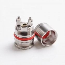 Authentic Mechlyfe RBA Section Rebuildable Coil Head with 510 Thread for Voopoo VINCI / VINCI R / VINCI X Pod System - Silver
