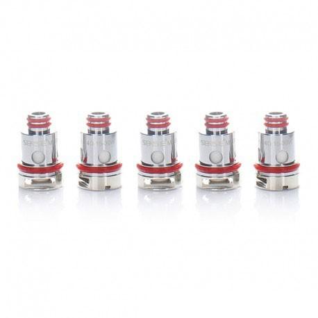 Authentic Sense Replacement Mesh Coil Head for Herakles Pod Mod Kit / SMOK RPM Pod Vape Kit - Silver, 0.4ohm (15~30W) (5 PCS)