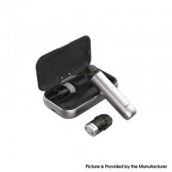 Authentic IJOY MIPO 10.5W 200mAh Pod System Vape Starter Kit w/ 1000mAh Charging Bank Case - Iron Grey, 1.4ml, 1.4ohm