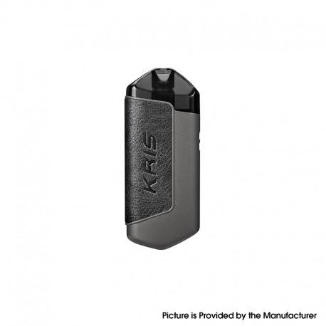 Authentic Hcigar KRIS 650mAh Refillable Pod System Vape Starter Kit - Black, Zinc Alloy + Leather, 2.0ml, 1.8ohm