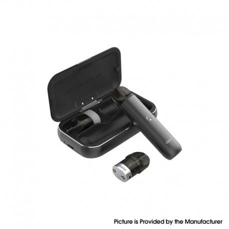 Authentic IJOY MIPO 10.5W 200mAh Pod System Vape Starter Kit w/ 1000mAh Charging Bank Case - Black, 1.4ml, 1.4ohm