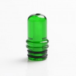 Authentic Reewape AS238 510 Replacement Drip Tip for RDA / RTA / RDTA / Sub-Ohm Tank Vape Atomizer - Green, Resin, 19.5mm