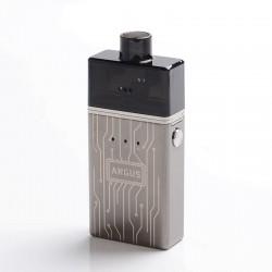 Authentic Nevoks Angus 60W 1700mAh Mesh RDA Starter Kit - Gun Metal, Zinc Alloy + PCTG, 0.18ohm / 0.25ohm