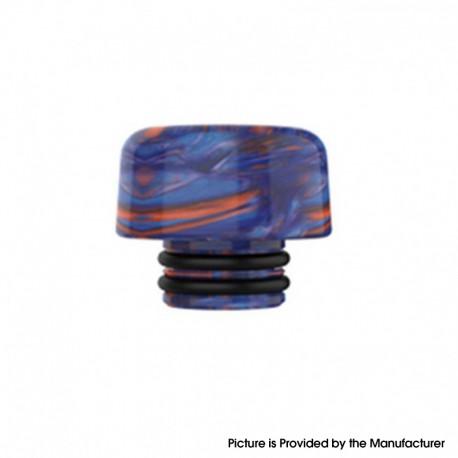 Authentic Mechlyfe Ratel XS 80W Rebuildable AIO Pod Vape Kit Replacement 510 DTL Drip Tip - Blue, Resin, 11mm