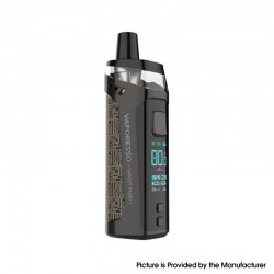 Authentic Vaporesso Target PM80 80W 2000mAh Sub Ohm DTL VW Mod Pod System Vape Starter Kit - Brown, 4ml, 0.2ohm / 0.3ohm, 5~80W