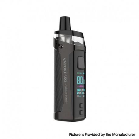 Authentic Vaporesso Target PM80 80W 2000mAh Sub Ohm DTL VW Mod Pod System Vape Starter Kit - Black, 4ml, 0.2ohm / 0.3ohm, 5~80W