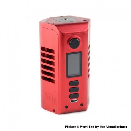 Authentic Dovpo Odin DNA250c 200W TC VW Vape Box Mod - Red, 200~600'F, 1~200W, 2 x 21700 / 20700