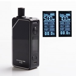 Authentic OBS Alter 70W 2300mAh VW Box Mod Pod System Starter Kit - Original, Zinc Alloy, 3.5ml / 5ml, 5~70W