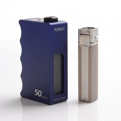 Authentic Dovpo Topside SQ Squonk BF Mechanical Box Mod - Blue, Aluminium, 12.5ml