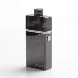 Authentic Nevoks Angus 60W 1700mAh Mesh RDA Starter Kit - Black, Zinc Alloy + PCTG, 0.18ohm / 0.25ohm
