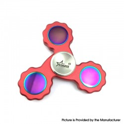 Starss Triangle Hand Spinner Toy Relieves Anxiety and Boredom Gear for ADHD / Anxiety / OCD Sufferers - Red