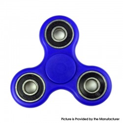 Tri Fidget Hand Spinner Work Ultra Fast Bearings Fidget Toy for ADHD / Anxiety / OCD Sufferers - Dark Blue