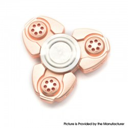 Triangle Hand Spinner Fidget Toy Relieves Anxiety and Boredom for ADHD / Anxiety / OCD Sufferers - Rose Gold