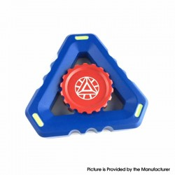 Triangle Hand Spinner Fidget Toy Relieves Anxiety and Boredom for ADHD / Anxiety / OCD Sufferers - Blue