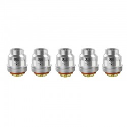 Authentic Voopoo Replacement Uforce U8 Octuple Coil for Uforce / T1 Tank / T2 Tank - Silver, 0.15ohm (70~130W) (5 PCS)