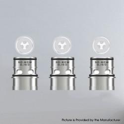 Authentic Vapefly Kriemhild 200W VW Mod Vape Kit /Tank Replacement Ni80 Triple Mesh Coil Head - Silver, 0.15ohm (50~80W) (3 PCS)