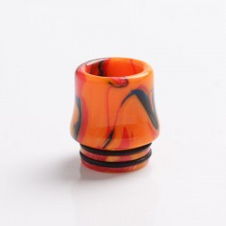 Authentic Reewape AS268 810 Replacement Drip Tip for SMOK TFV8 /TFV12 Tank/Kennedy/Battle/Reload RDA - Yellow Red, Resin, 17.5mm