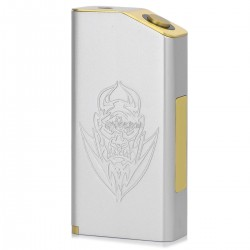 Silver EL Diable Mechanical Box Mod