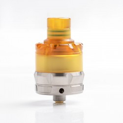 Authentic asMODus ANANI MTL RTA Rebuildable Tank Atomizer - Silver + Brown, Stainless Steel, 2.0ml, 24mm Diameter