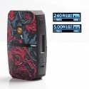 Authentic USV VIA240 CKS VIA 240 240W TC VW Variable Wattage Box Vape Mod - Species, Polymer, 5~240W, 2 x 18650
