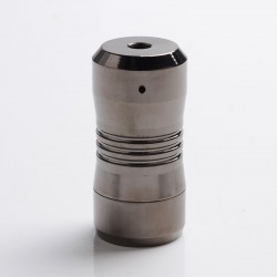 Scar Mini Style Hybrid Mechanical Mod - Gun Metal, Brass, 1 x 18350